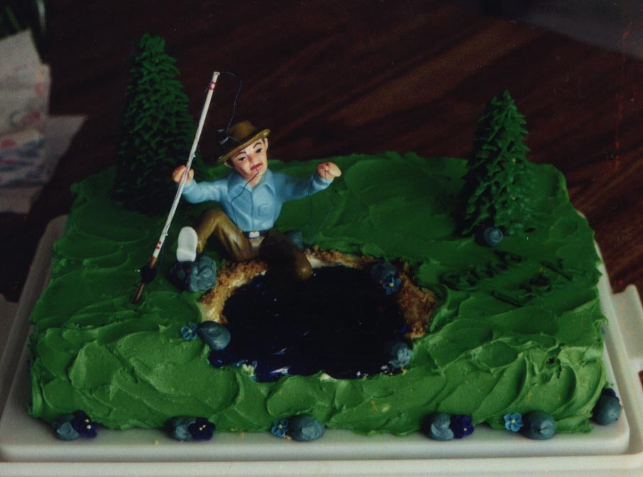 Fishing Cake Designs